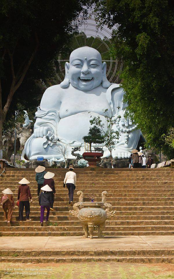 The Laughing Buddha of Dalat, Vietnam