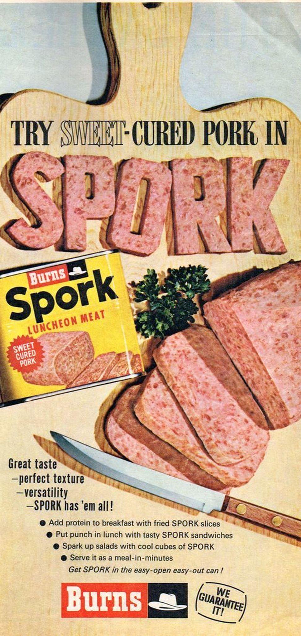spork luncheon meat