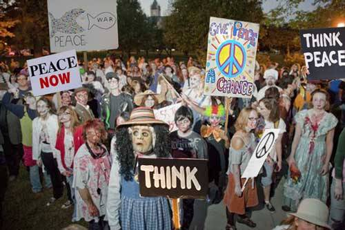 Zombies for peace
