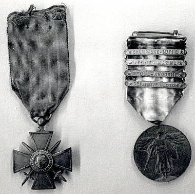 Myrl Billings medals