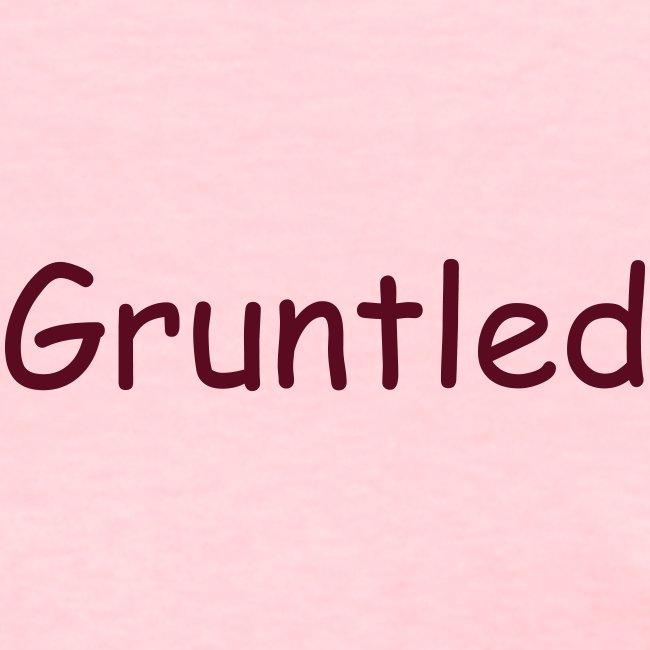 a-t-shirt-that-says-gruntled