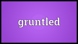 Gruntled label large