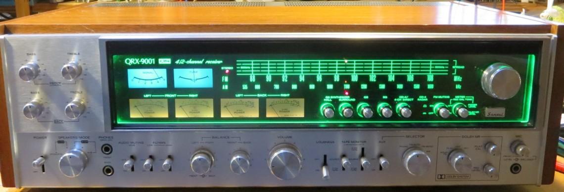 Sansui QRX-9001 receiver