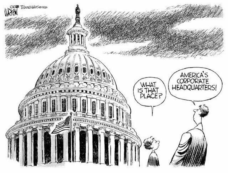 Congress USA corporate headquarters elites business
