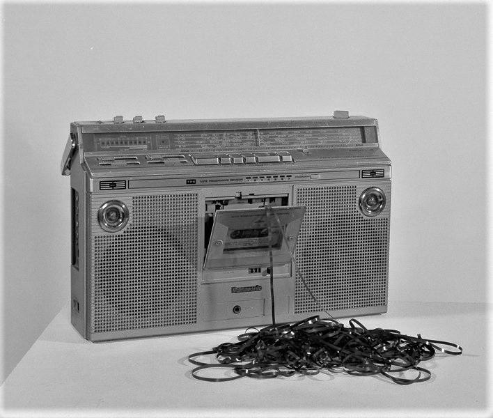 cassette tape eaten player