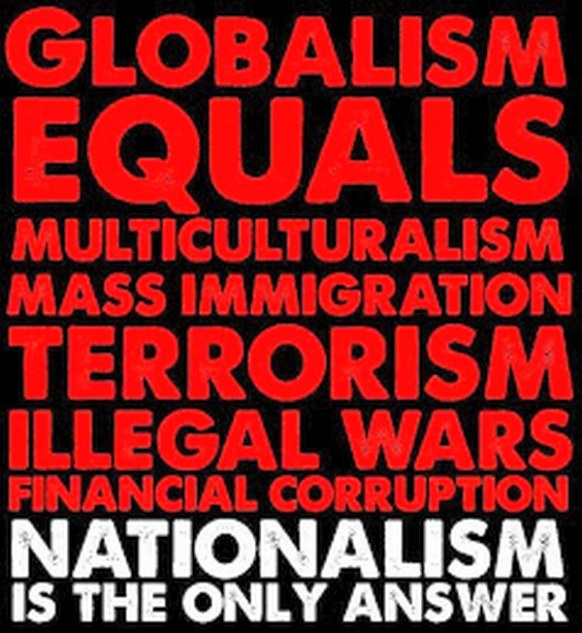 globalism nationalism invasion immigration terrorism war elites corrupt